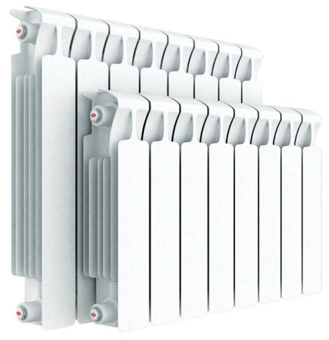 Радиатор секционный биметаллический Rifar Monolit Ventil 350