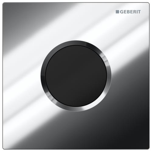 Кнопка смыва GEBERIT 116.031.21.5 Sigma 01 глянцевый хром кнопка смыва geberit 115 884 sj 1 sigma 21 стекло черное глянцевый хром
