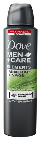 Антиперпирант спрей Dove Men + Care Свежесть минералов и шалфея