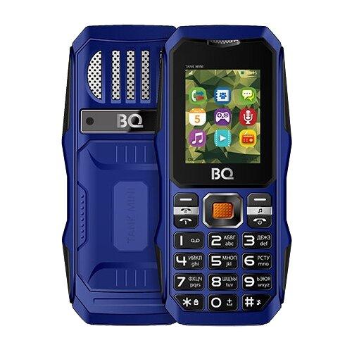 цена на Телефон BQ 1842 Tank mini синий