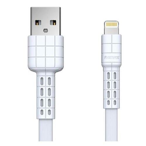 Кабель Remax Armor Series USB - Apple Lightning (RC-116i) 1 м белыйКомпьютерные кабели, разъемы, переходники<br>