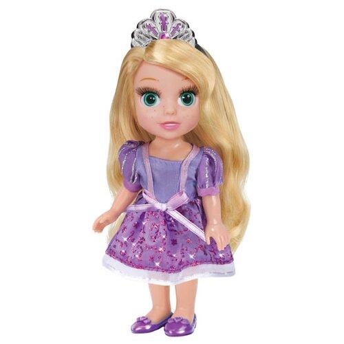 Интерактивная кукла Карапуз Принцессы Disney Принцесса Рапунцель 15 см RAP002XКуклы и пупсы<br>