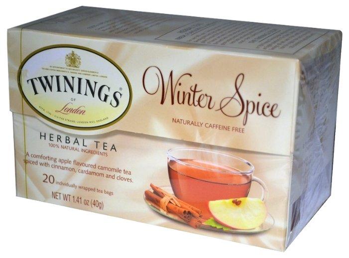 Чай травяной Twinings Winter spice в пакетиках