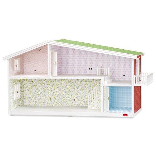 Купить Lundby кукольный домик Премиум LB_60102000, зеленый/красный/голубой, Кукольные домики