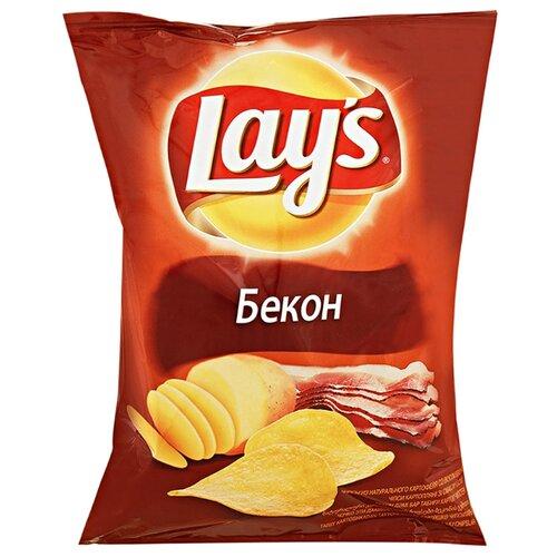 Чипсы Lay's картофельные Бекон, 80 г