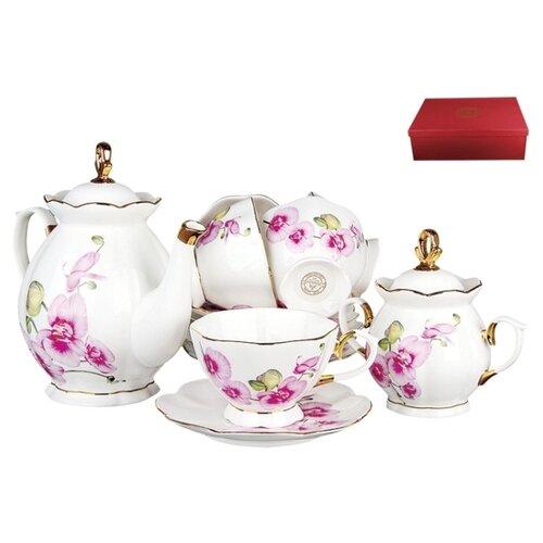 Чайный сервиз Коралл Орхидея мультиколорСервизы<br>