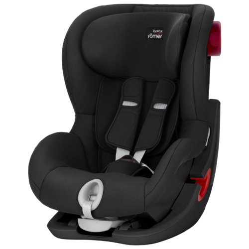 Автокресло группа 1 (9-18 кг) BRITAX ROMER King II, Cosmos Black black series автокресло britax romer king ii black series wine rose trendline