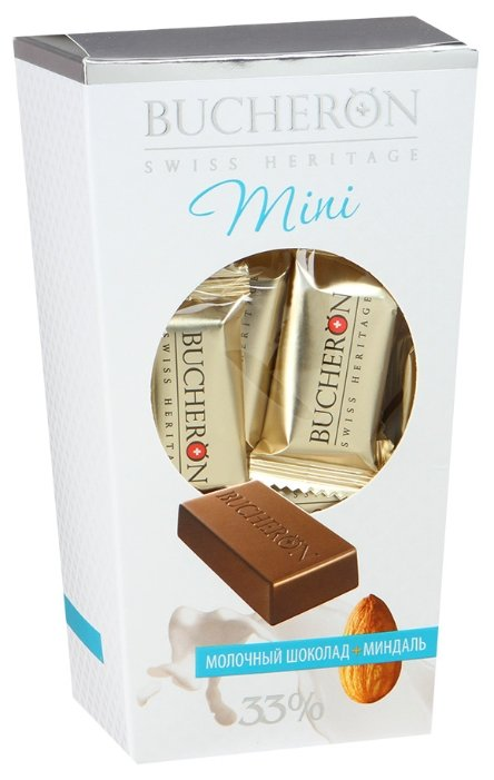 Набор конфет Bucheron Mini молочный шоколад с миндалем 171 г