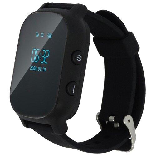 Фото - Детские умные часы c GPS Smart Baby Watch T58 черный детские умные часы smart baby watch fa27t черный