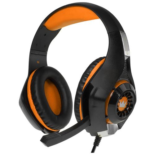 Купить Компьютерная гарнитура CROWN MICRO CMGH-102T orange