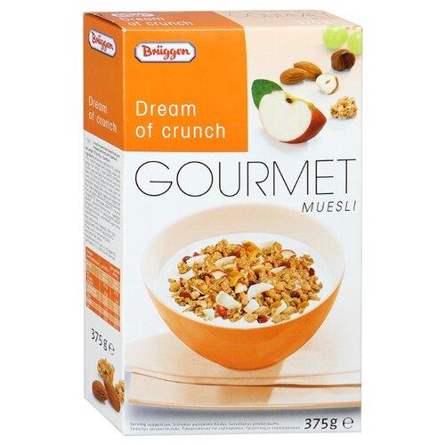 Мюсли Bruggen Gourmet хрустящие хлопья, коробка, 375 г