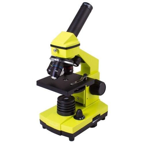 Микроскоп LEVENHUK Rainbow 2L PLUS lime недорого