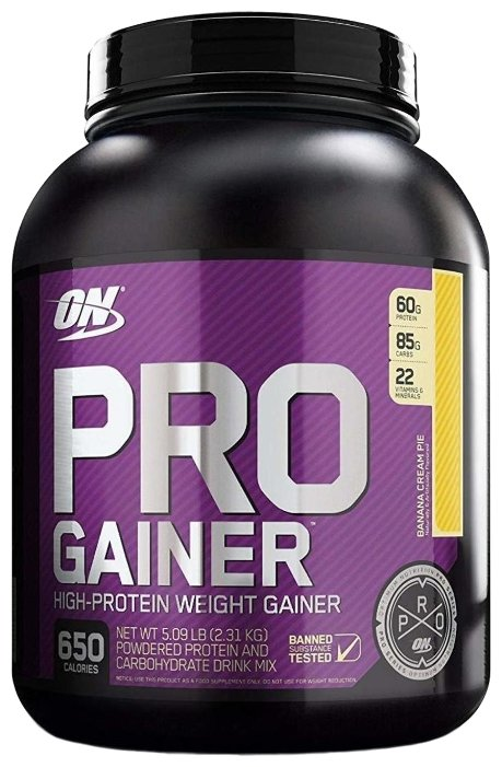 Гейнер Optimum Nutrition Pro Gainer (2.31 кг)