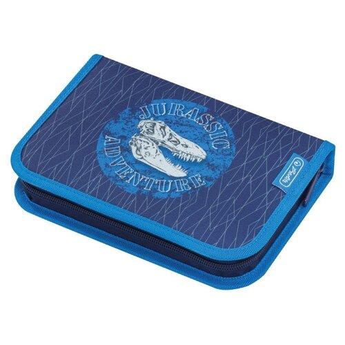 Купить Herlitz Пенал Blue Dino (50014385) синий/голубой, Пеналы