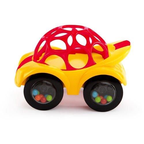 Купить Каталка-игрушка Oball Машинка (81510) желтый, Каталки и качалки