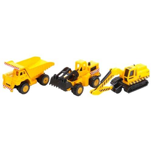 Купить Набор техники ТЕХНОПАРК SB-15-11 1:72 желтый, Машинки и техника