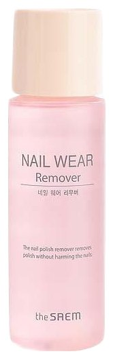 The Saem Жидкость для снятия лака Nail Wear Remover — цены на Яндекс.Маркете