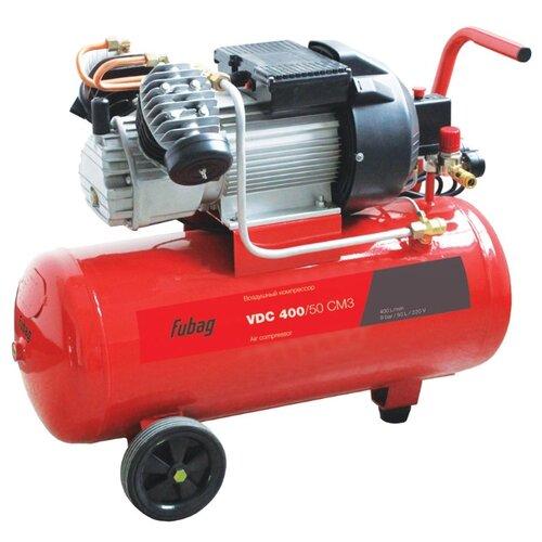 Компрессор масляный Fubag VDС 400/50 CM3, 50 л, 2.2 кВт компрессор fubag b 2800 b 100 cm3