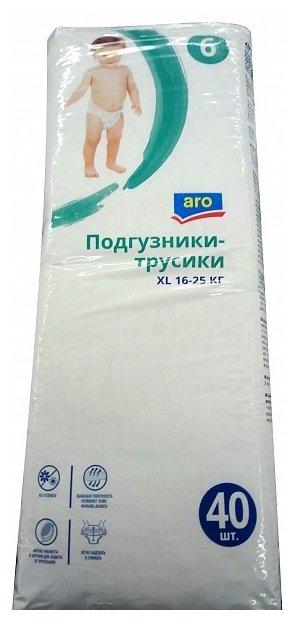 ARO трусики 6 (16-25 кг) 40 шт.