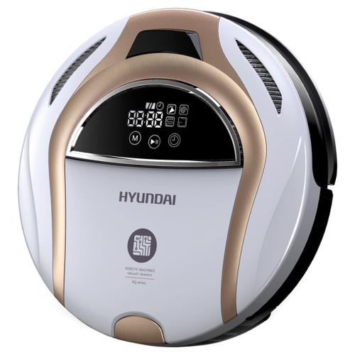 Робот-пылесос Hyundai H-VCRQ80 белый/золотистый
