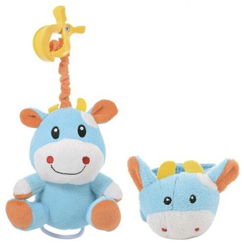 Купить Подвесная игрушка Canpol Babies Коровка (67/003) голубой, Подвески
