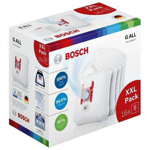 Bosch Мешки-пылесборники BBZ16GALL 16 шт. мешки для пылесоса bosch bbz16gall 16шт для g all