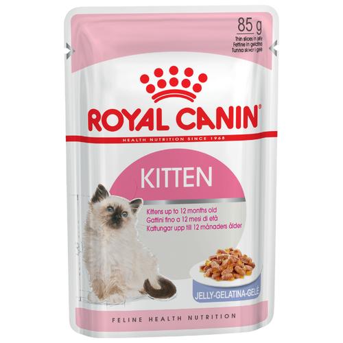 Корм для котят Royal Canin Instinctive мясное ассорти 85 г (кусочки в желе) консервы для котят аппетитные кусочки в желе royal canin kitten instinctive 85 г