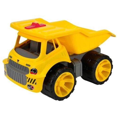 Грузовик BIG Maxi Truck (55810) 46 см желтыйМашинки и техника<br>