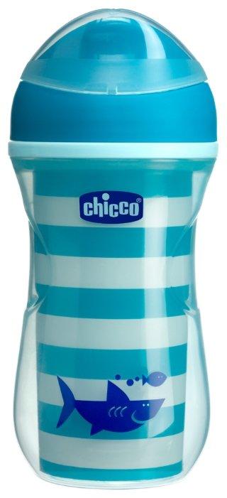 Поильник-непроливайка Chicco Active Cup, 266 мл