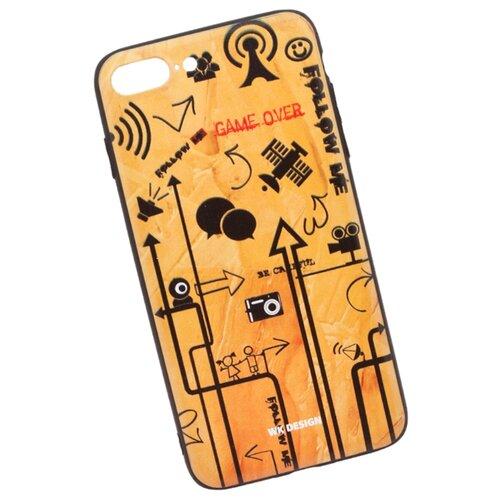 Чехол WK WK502 для Apple iPhone 7 Plus/iPhone 8 Plus песочный с рисунком чехол wk letou для iphone xs 0l 00039966 серый