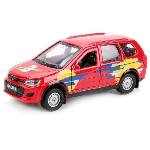 Купить Легковой автомобиль ТЕХНОПАРК Lada Kalina Спорт (SB-16-46-S-WB) 12 см красный, Машинки и техника