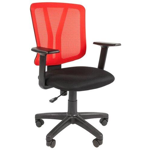 Компьютерное кресло Chairman 626 офисное, обивка: текстиль, цвет: красный по цене 6 030
