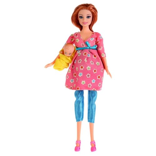 Фото - Кукла Карапуз Беременная София с дочерью, 29 см, 66308R-S-BB кукла карапуз софия повар 29 см