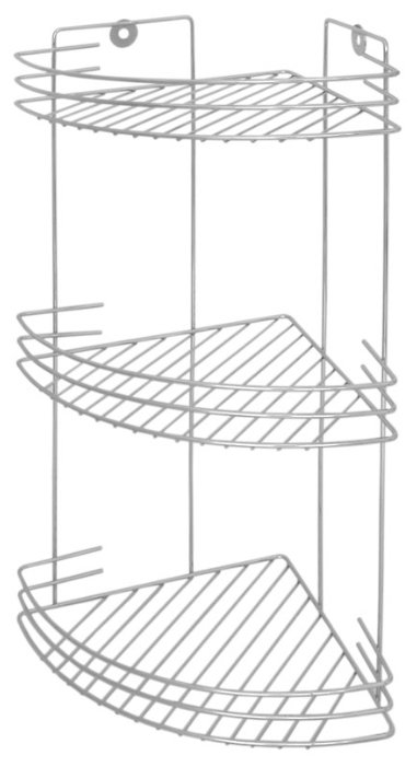 Этажерка настенная Рыжий кот CHR-372 металлик