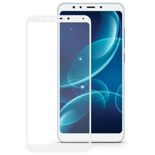 Защитное стекло Mobius 3D Full Cover Premium Tempered Glass для Xiaomi Redmi 5 Plus белыйЗащитные пленки и стекла<br>