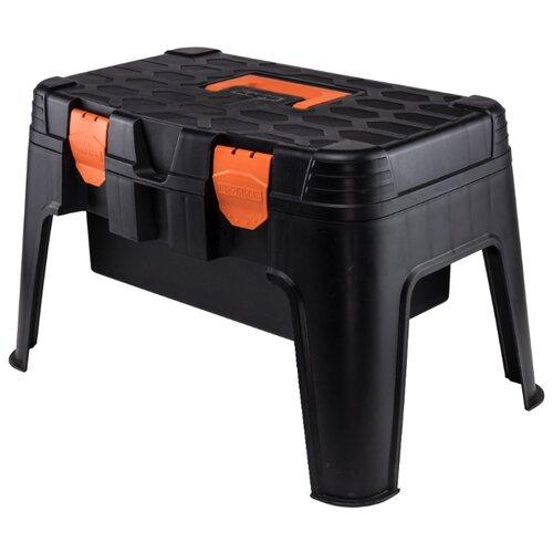 Ящик BLOCKER Master BR3783 53 х 33.5 x 32 см черный/оранжевыйЯщики для инструментов<br>