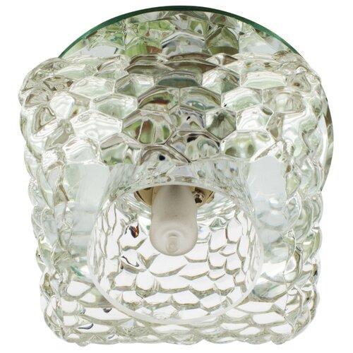 Встраиваемый светильник De Fran FT 9284 CL, хром / прозрачныйВстраиваемые светильники<br>