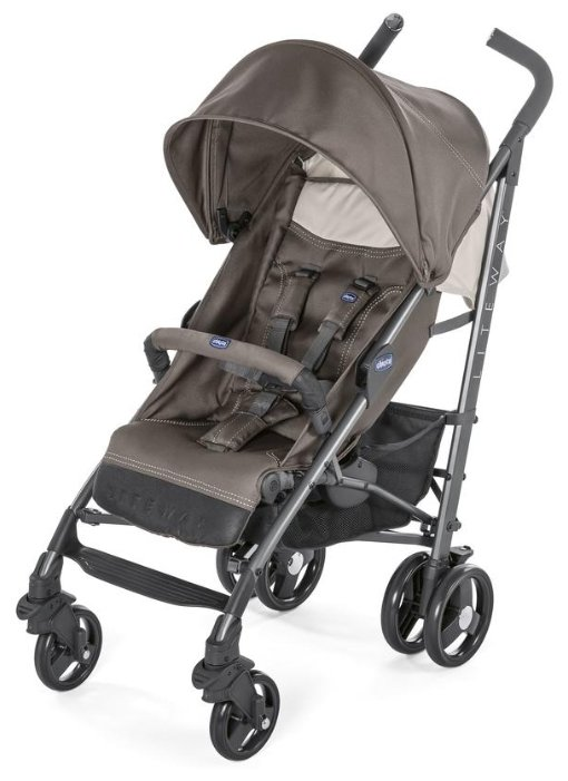 Прогулочная коляска Chicco Lite Way Top Stroller dove grey