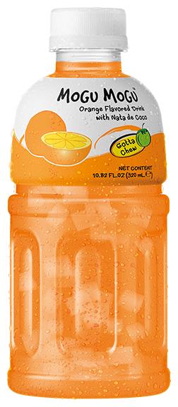 Напиток сокосодержащий Mogu Mogu Апельсин с кокосовым желе, 0.32 л