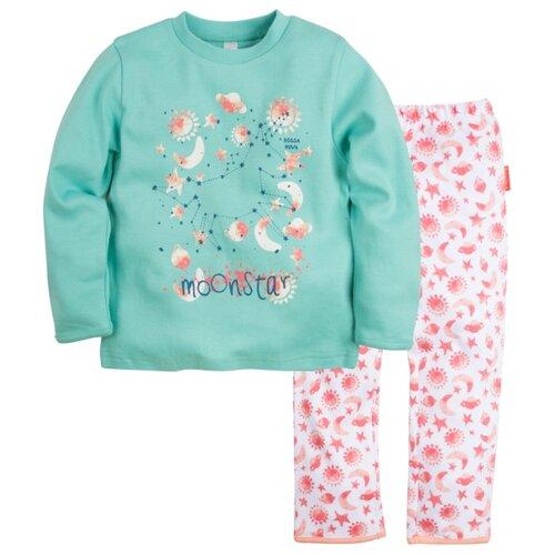 Пижама Bossa Nova размер 34, бирюзовый/белый (набивка звезды)Домашняя одежда<br>