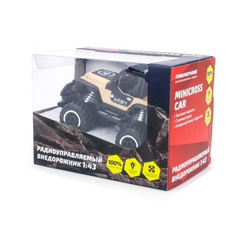 Внедорожник Pilotage Minicross Car (RC61089/RC60896) 1:43 13.5 см