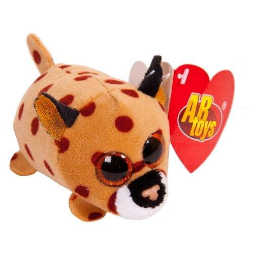 Мягкая игрушка ABtoys Леопард коричневый 5 см