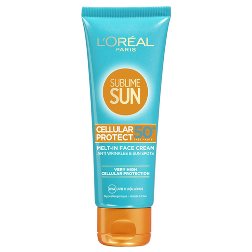 L'Oreal Paris крем Sublime Sun Экстра Защита, SPF 50, 75 мл spf защита