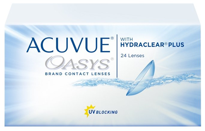 Контактные линзы Acuvue OASYS with Hydraclear Plus (24 линзы) R 8,4 D -5,75