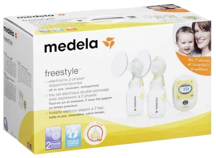 Электрический молокоотсос Medela Freestyle Double