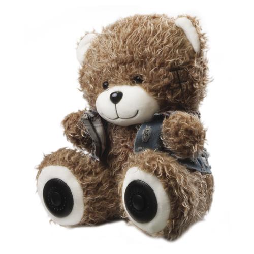 Портативная акустика Ritmix ST-250 Bear BT коричневый