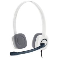 Компьютерная гарнитура Logitech Stereo Headset H150 белый