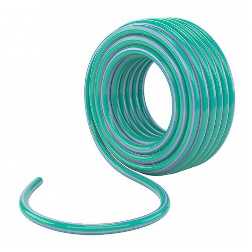 Шланг PALISAD поливочный армированный 3-х слойный 3/4 50 метров (67652) голубой/фиолетовый шланг palisad поливочный армированный 3 х слойный 3 4 25 метров 67645 зеленый голубой