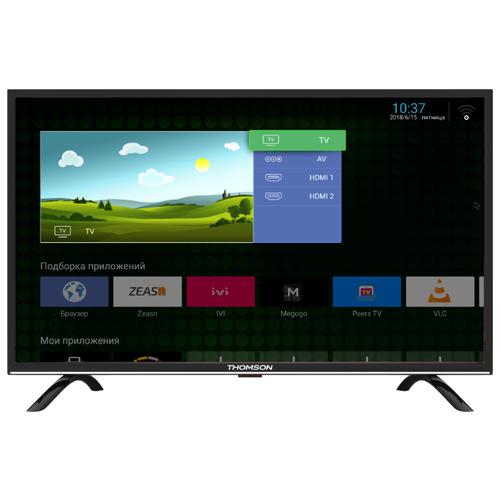 Телевизор Thomson T49FSL5130 48.5 (2018) черный/серебристый телевизор thomson t32rtl5140 черный