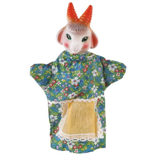 Фото - ОГОНЁК Кукла-перчатка Коза (С-974) огонёк кукла перчатка бегемот с 1156